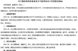 南京教育局紧急通知:中小学生雪天可推迟上学