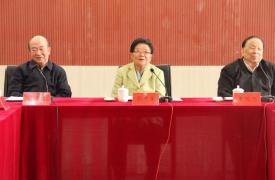 中国关工委顾秀莲主任调研考察十月军校